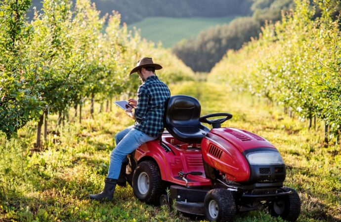 Anschaffungskosten für einen neuen Kleintraktor